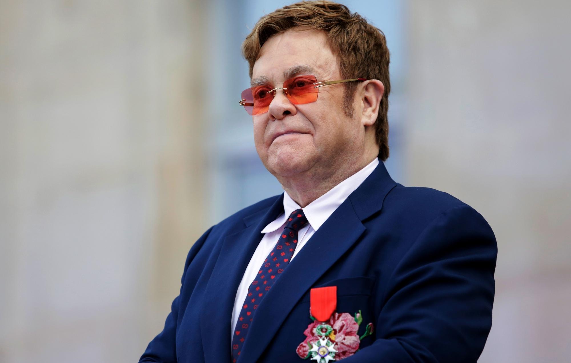 The Decorated Sir Elton John
