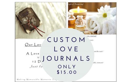 Custom Love Journal