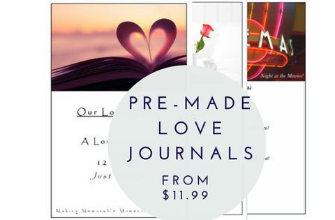 Pre-made Love Journals