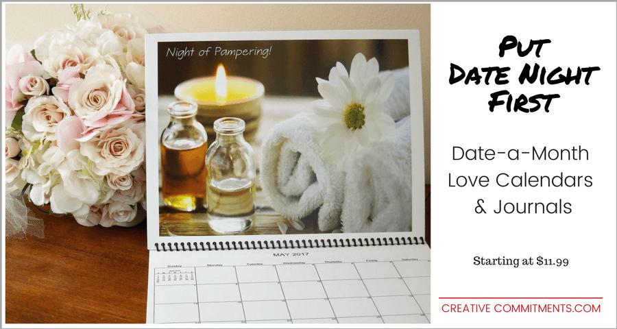 Put Date Night 1st with a Love Calendar
