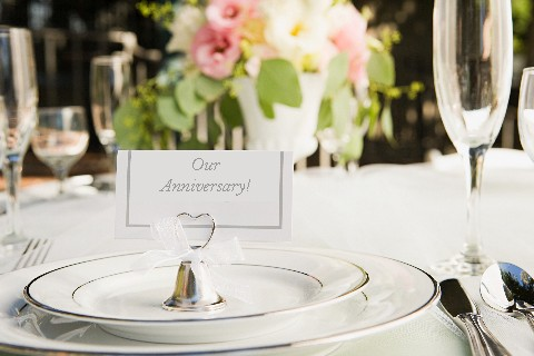 Our Anniversary - Place Setting