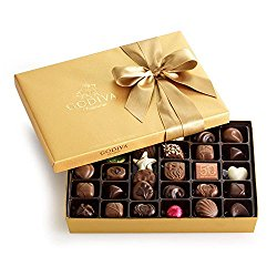 Godiva 36pc Gold Box Chocolate