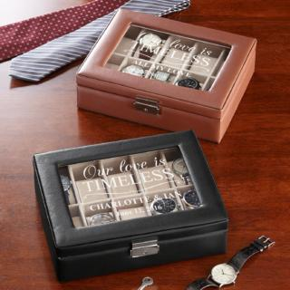 Love is Timeless Watch Box $44.99