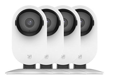 Wifi Home Security System with Night Vision and Baby Monitor