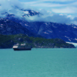 Westerdam in Glacier Bay