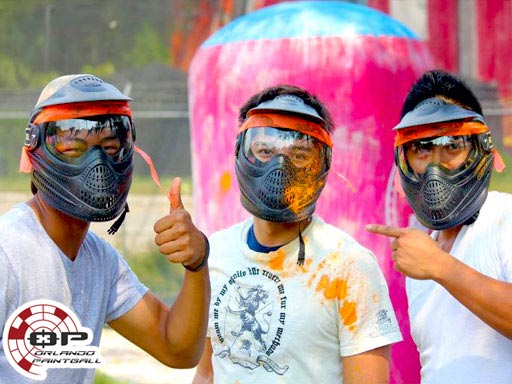 Orlando Paintball Group of 3 Players