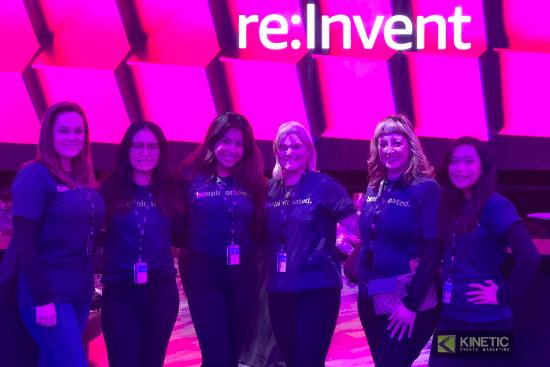 Las Vegas Brand Ambassadors- AWS re: Invent