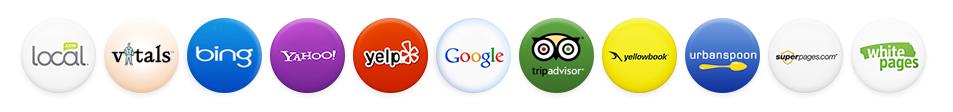 local listing logos