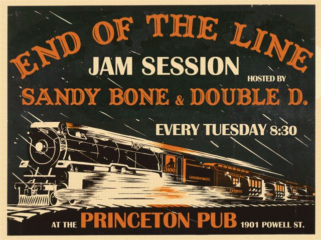 Tuesdays End Of The Line Jam Session