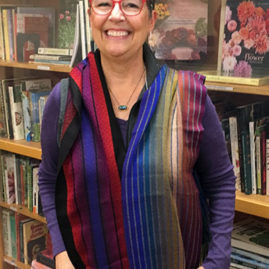 Marsha Godfrey's color workshop scarves