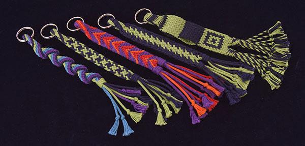 ply-split braids by Linda Hendrickson