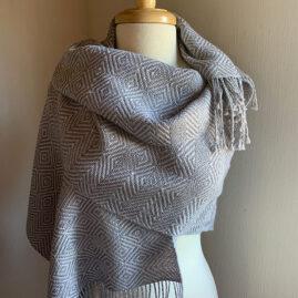 Marta Shannon's Shadow weave shawl