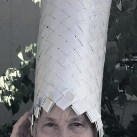 Sheila O'Hara - mini blind hat