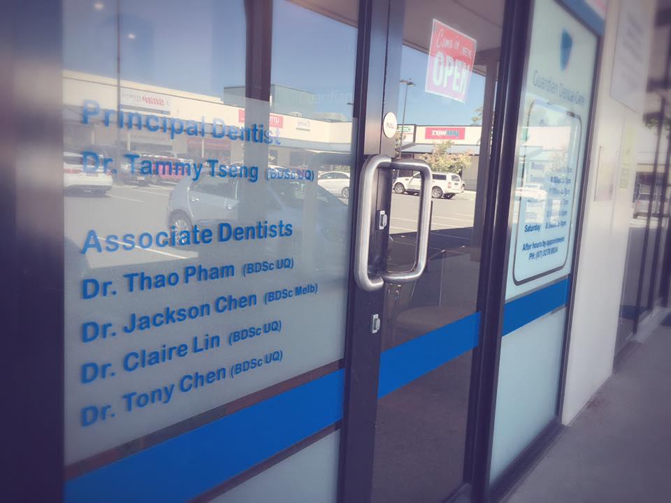 Guardian Dental Shop Front