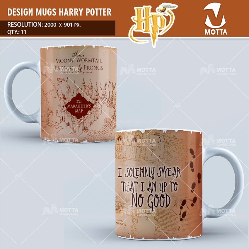 HARRY POTTER | DESIGN FOR SUBLIMATION THE MUGS