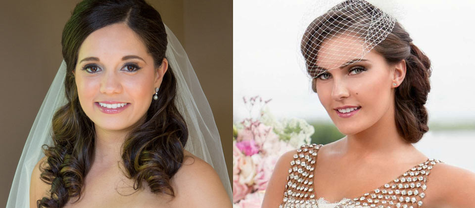 wedding and bridal hair and makeup