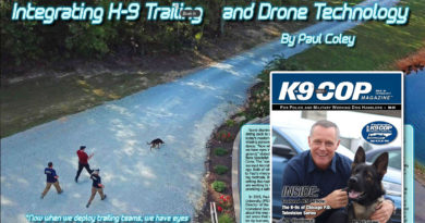 K9 Cop K9 Trailing Drone Integration article