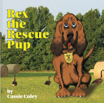 Rex the Rescue pup new from Scent Evidence k9