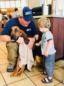 Chick-fil-A Family Night with Rex the Rescue Pup