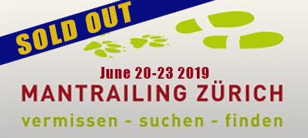 Zurich Mantrailing Seminar with Paul Coley June 20-23