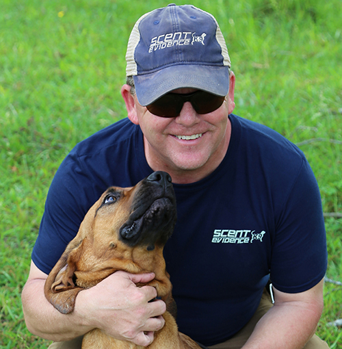 Scent Evidence K9 CEO, Paul Coley