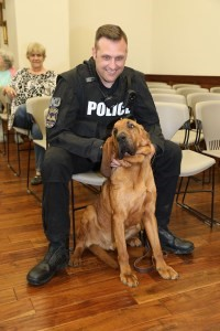 Bloodhound Eli Tuscumbia PD