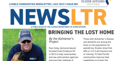 Dept of Elder Affairs Livable Community Newsletter