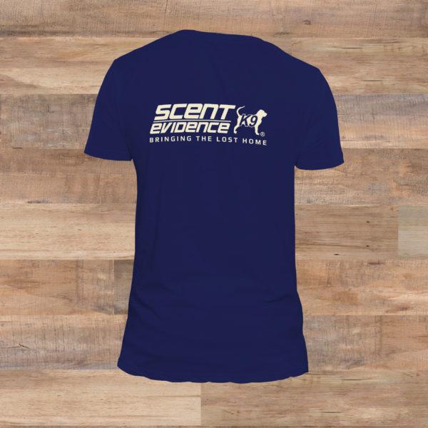 Scent Evidence K9 T-shirt back