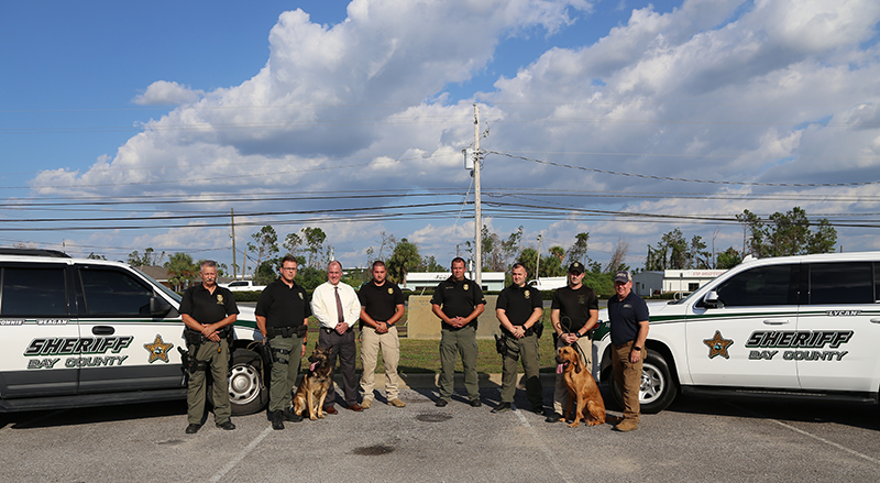 Scent Discriminate K9 Training with Bay County Sheriff's Office