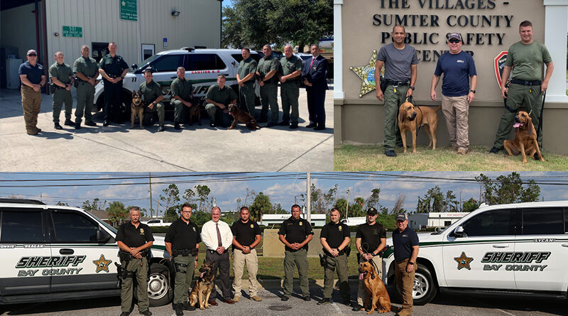 Scent Discriminate K9 Training Increases Search Capabilities For 3 Florida Counties