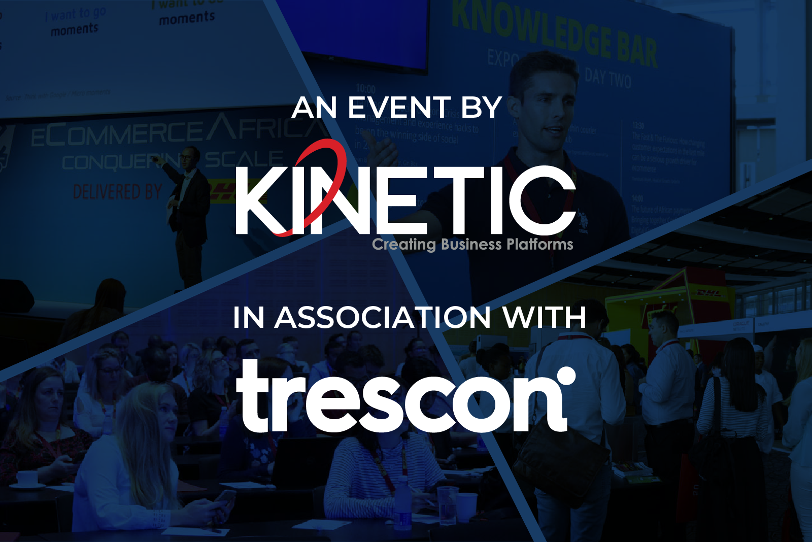 Kinetic and Trescon double down on the conference space with a merger of forces to expand their conference and exhibition offering globally.