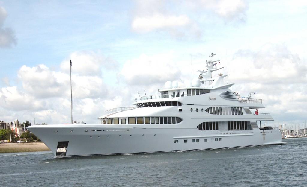 Samar yacht