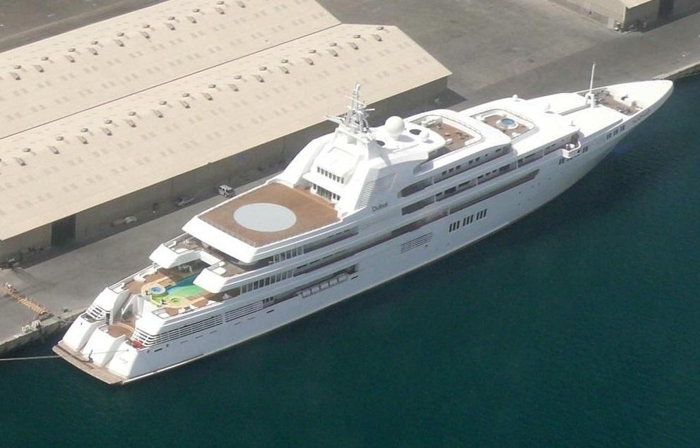 Dubai yacht