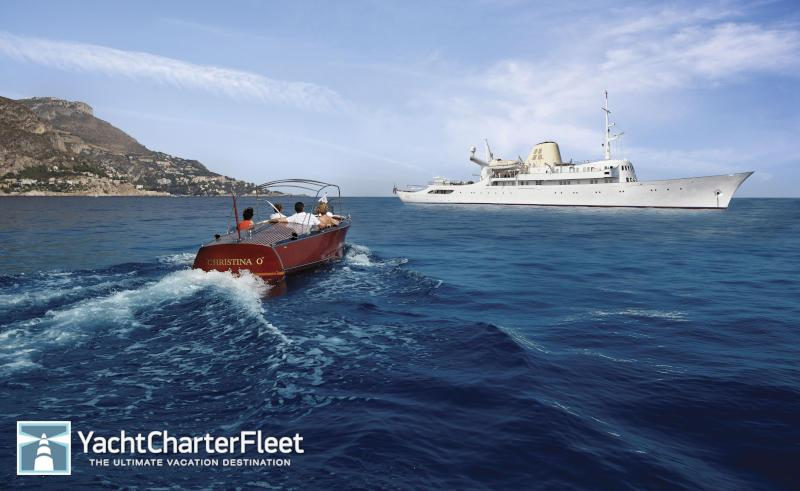 super yacht christina O