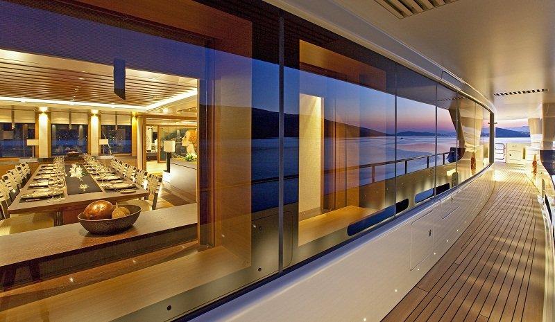 External walk around on Mary Jean II luxury Charter