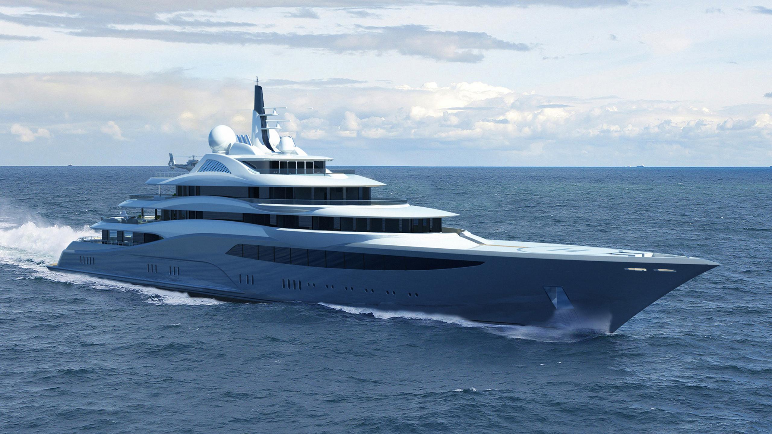 Infinity Super yacht
