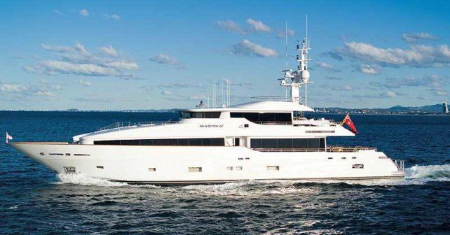 Masteka Super Yacht Hire