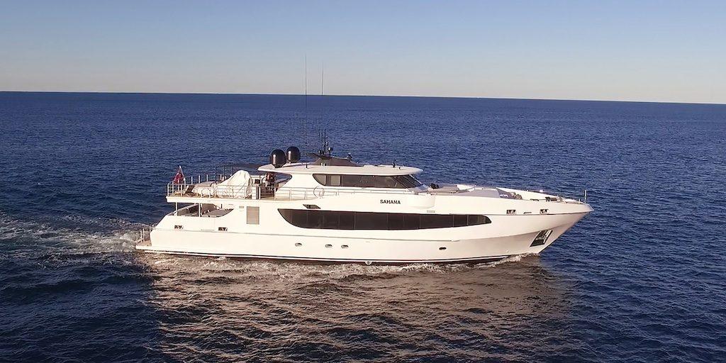 MY Sahana Luxury Boat Hire