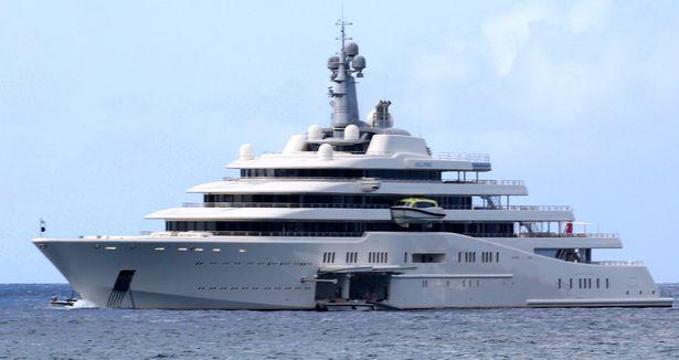 Eclipse Super Yacht