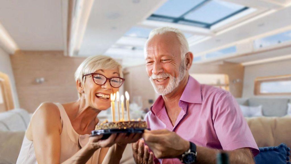 Here's why you should celebrate Milestone Birthdays on A Superyacht!