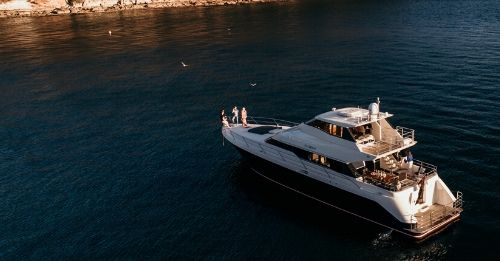 Here's why you should celebrate milestones on a superyacht!