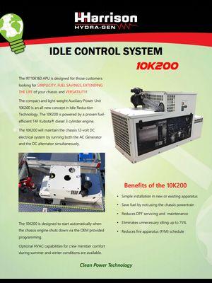 10k200 Idle Control System