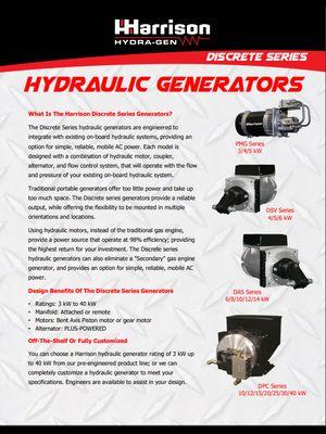 Discrete series generators