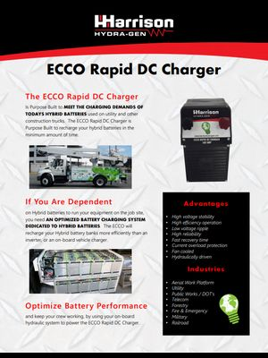 ECCO Rapid DC Charger