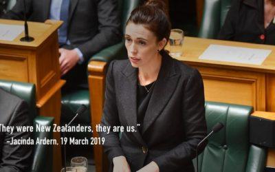 Speech 11:  Jacinda Ardern (they were New Zealanders, they are us)