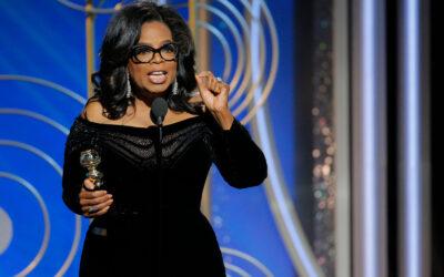 Speech 37:  Oprah Winfrey (their time is up)
