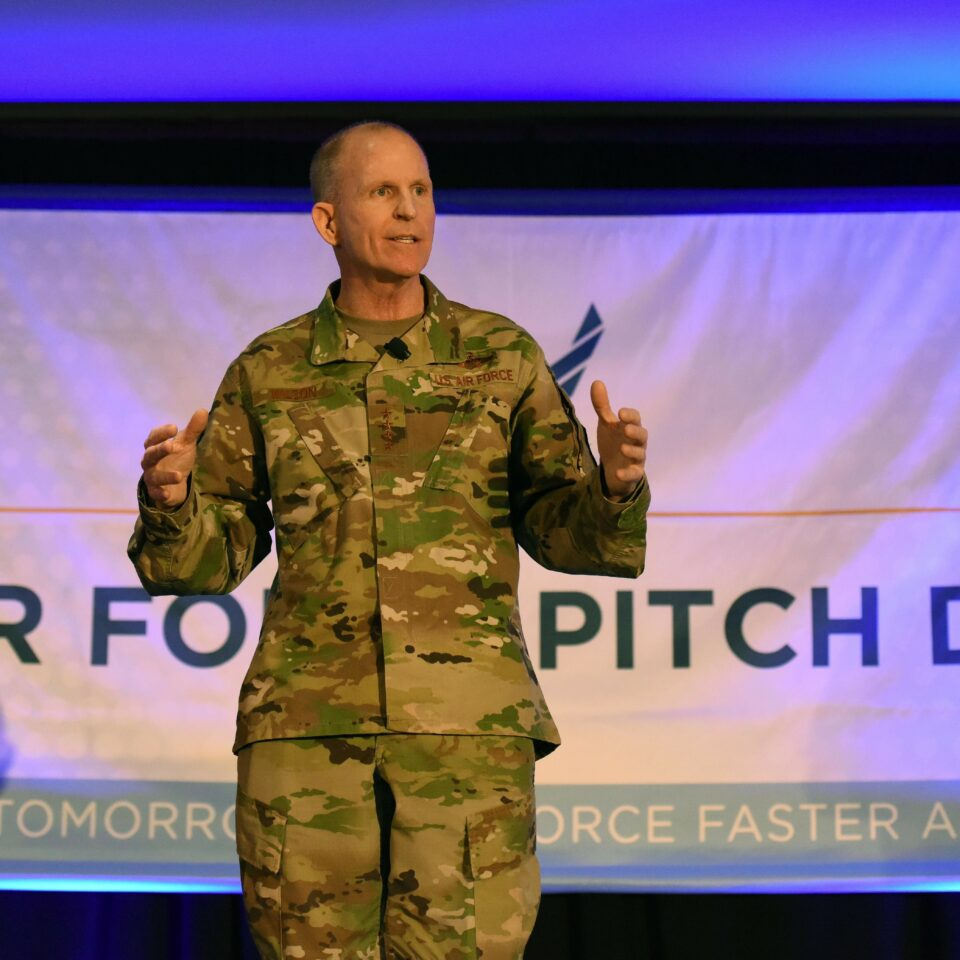 The Inaugural Air Force Pitch Day: New contracts and new partners