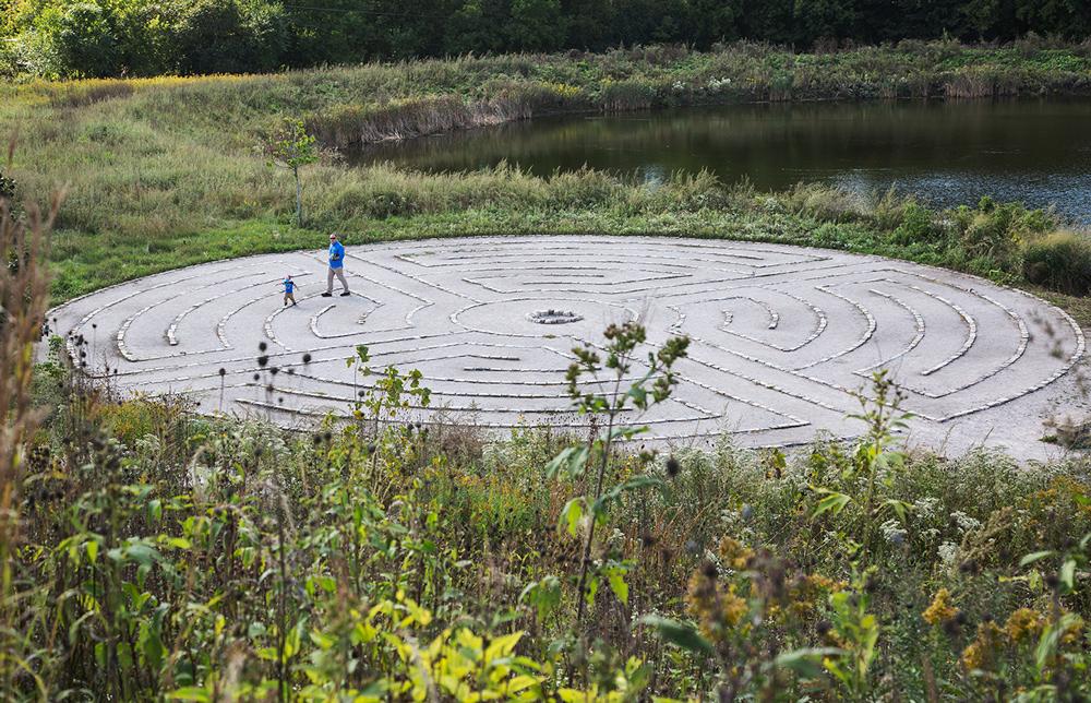 The labyrinth.