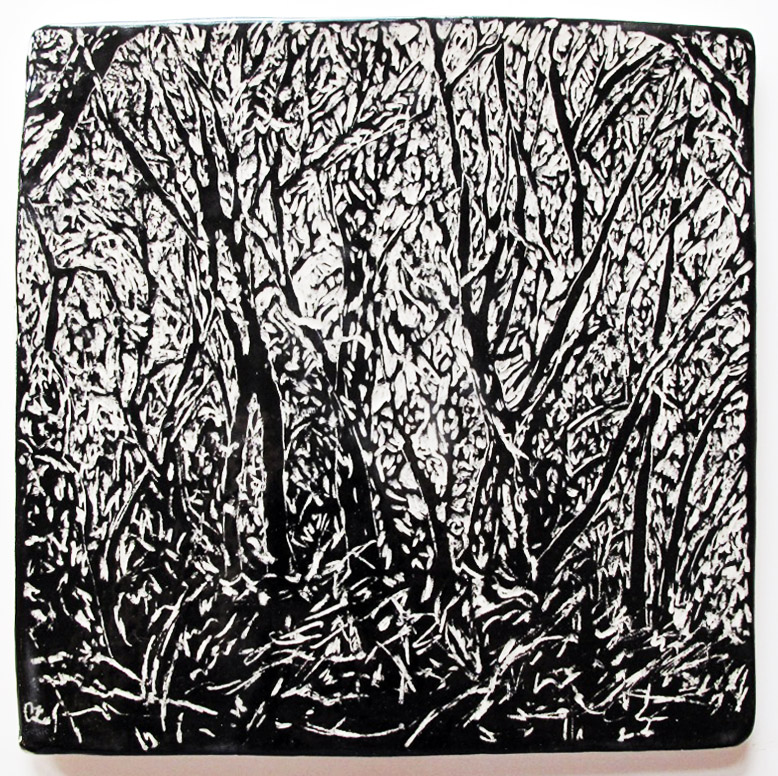 """""""Discovery,"""" ceramic tile"""