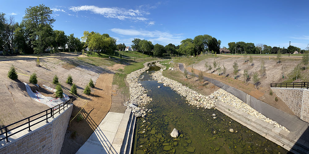 Pulaski Park and KK River